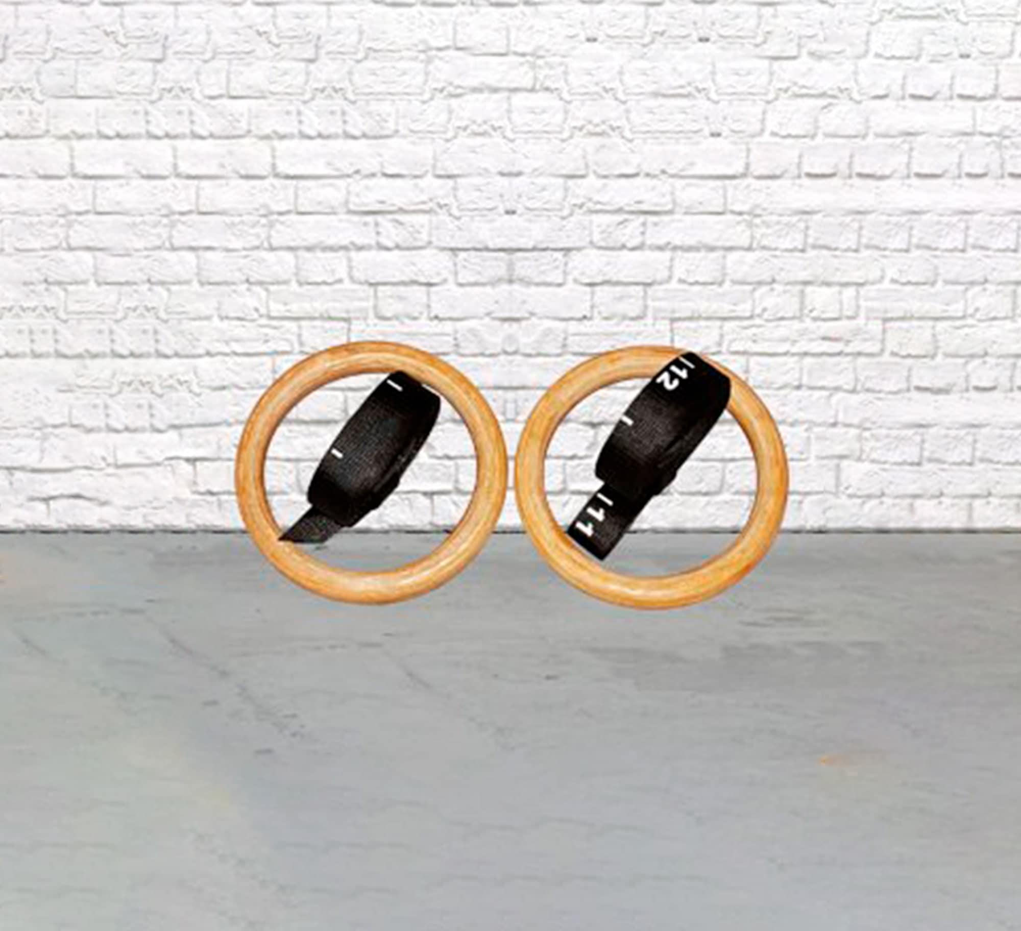 Gymnastic ring wood commercial grade