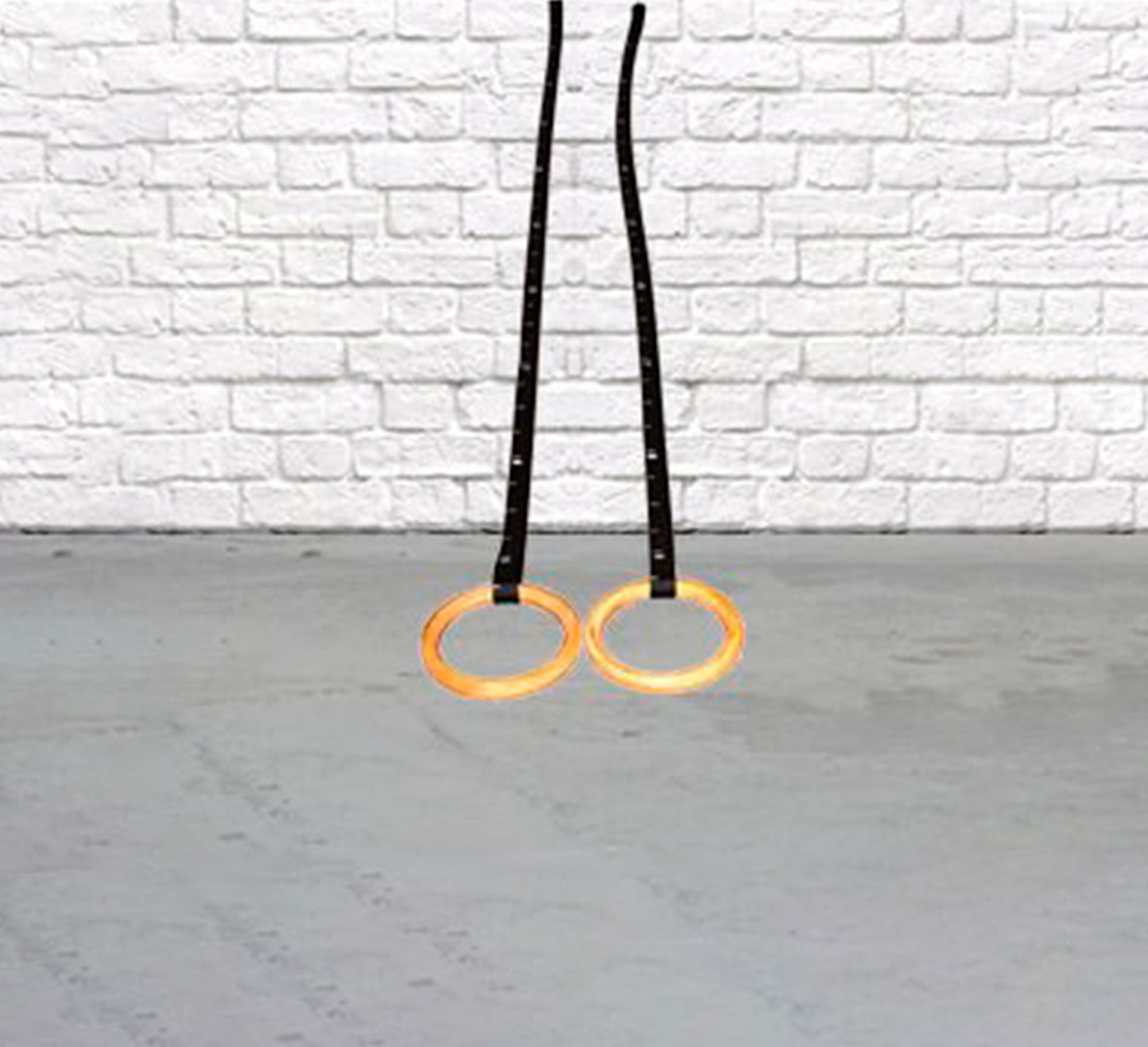 Gymnastic Rings Wood Commercial Grade By Bos