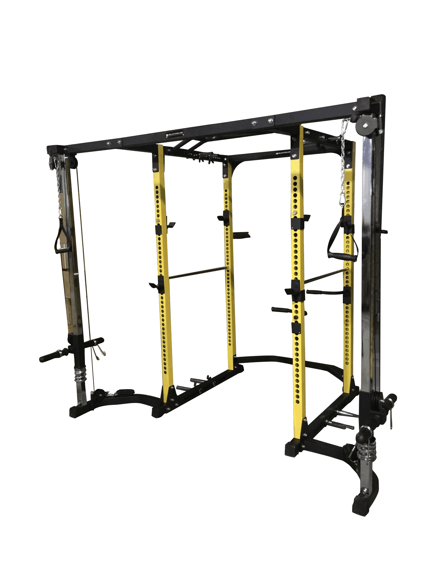 Cable Crossover - Light Commercial Power Rack - Bells of Steel