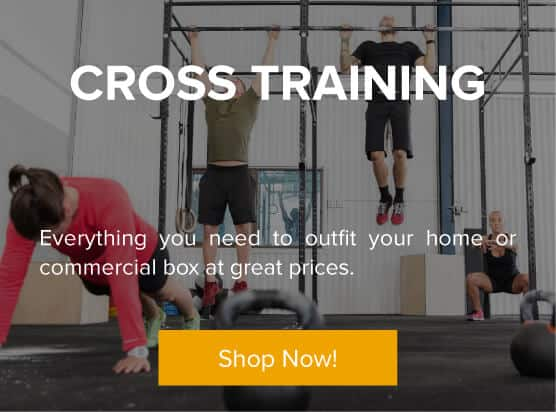Cross Training - Everything you need to outfit your home or commercial box at great prices.