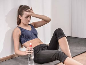 Should I workout when I'm sick?