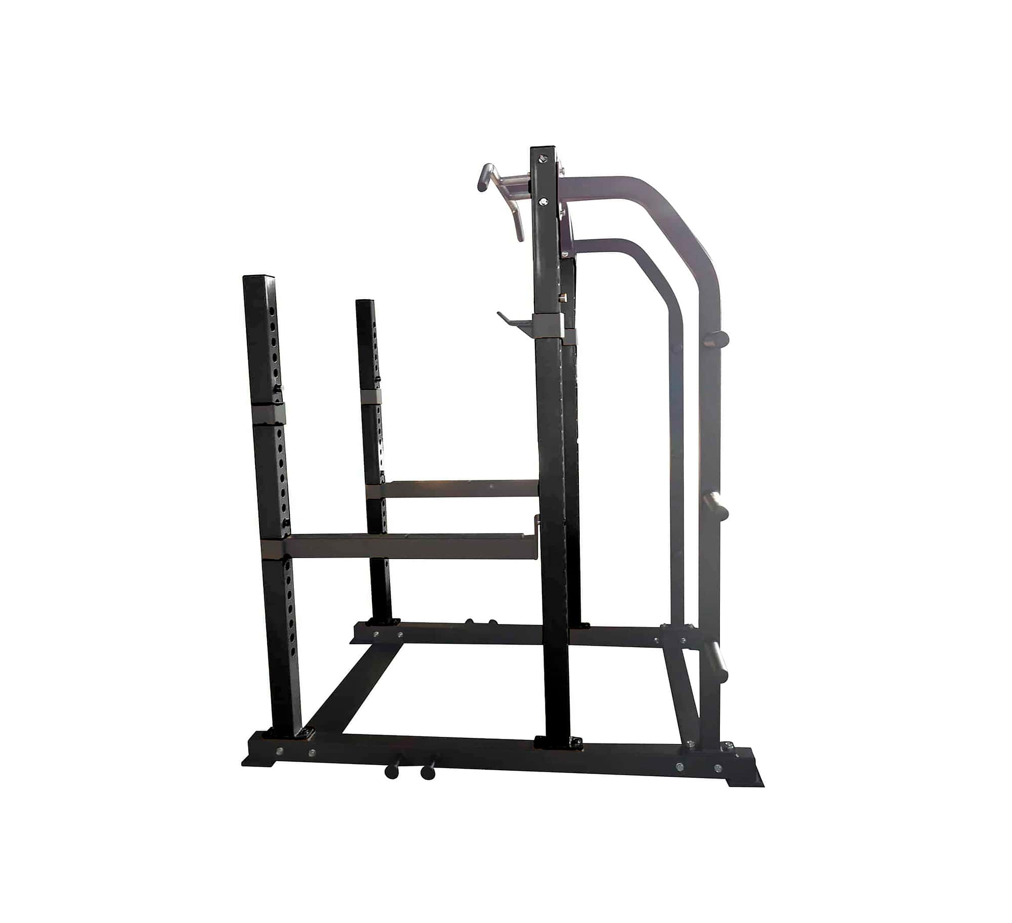 squat rack 4.0 commercial grade black