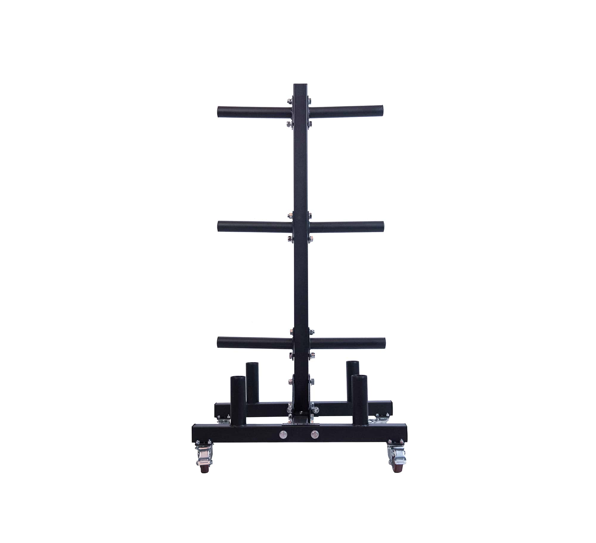Bumper Plate Tree and Bar Holder 2.0 By B.o.S.