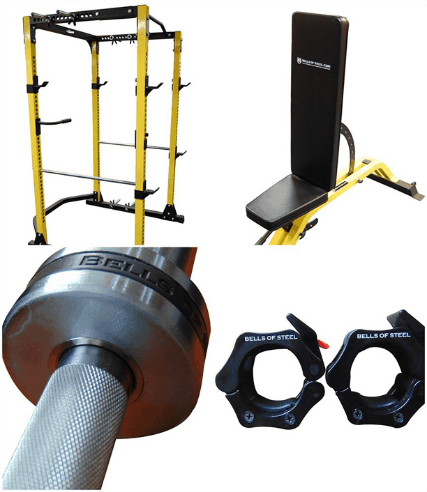 Garage gym builder home at a great price bells of