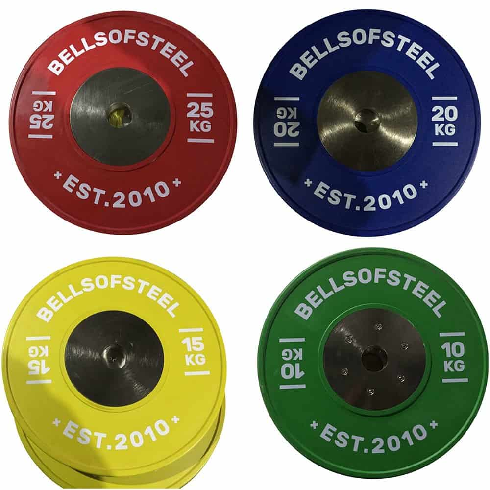 Colour Competition Bumper Plates Set -KG