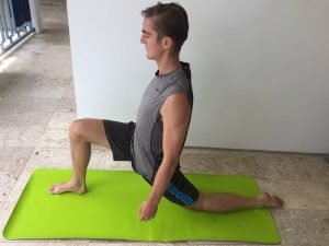 Lunge for Low Back Pain