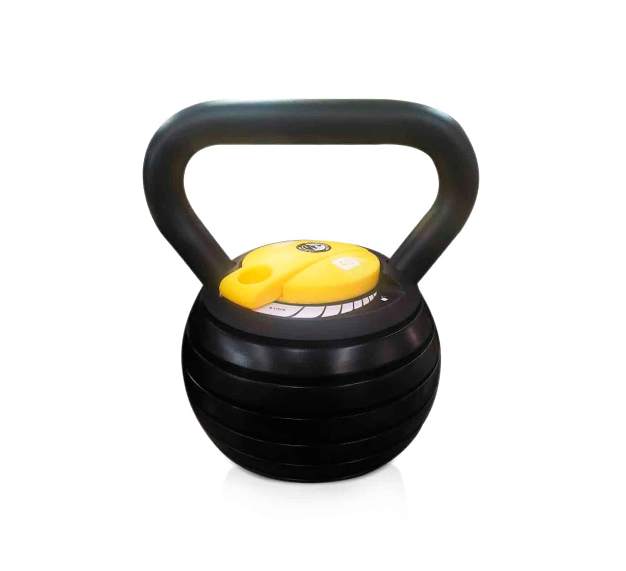 10 to 40lb adjustable kettlebell