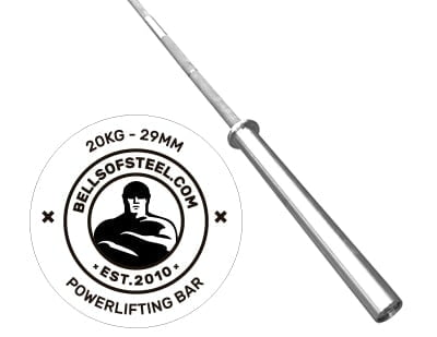 Barenaked Powerlifting Bar 2.0 By B.o.S.