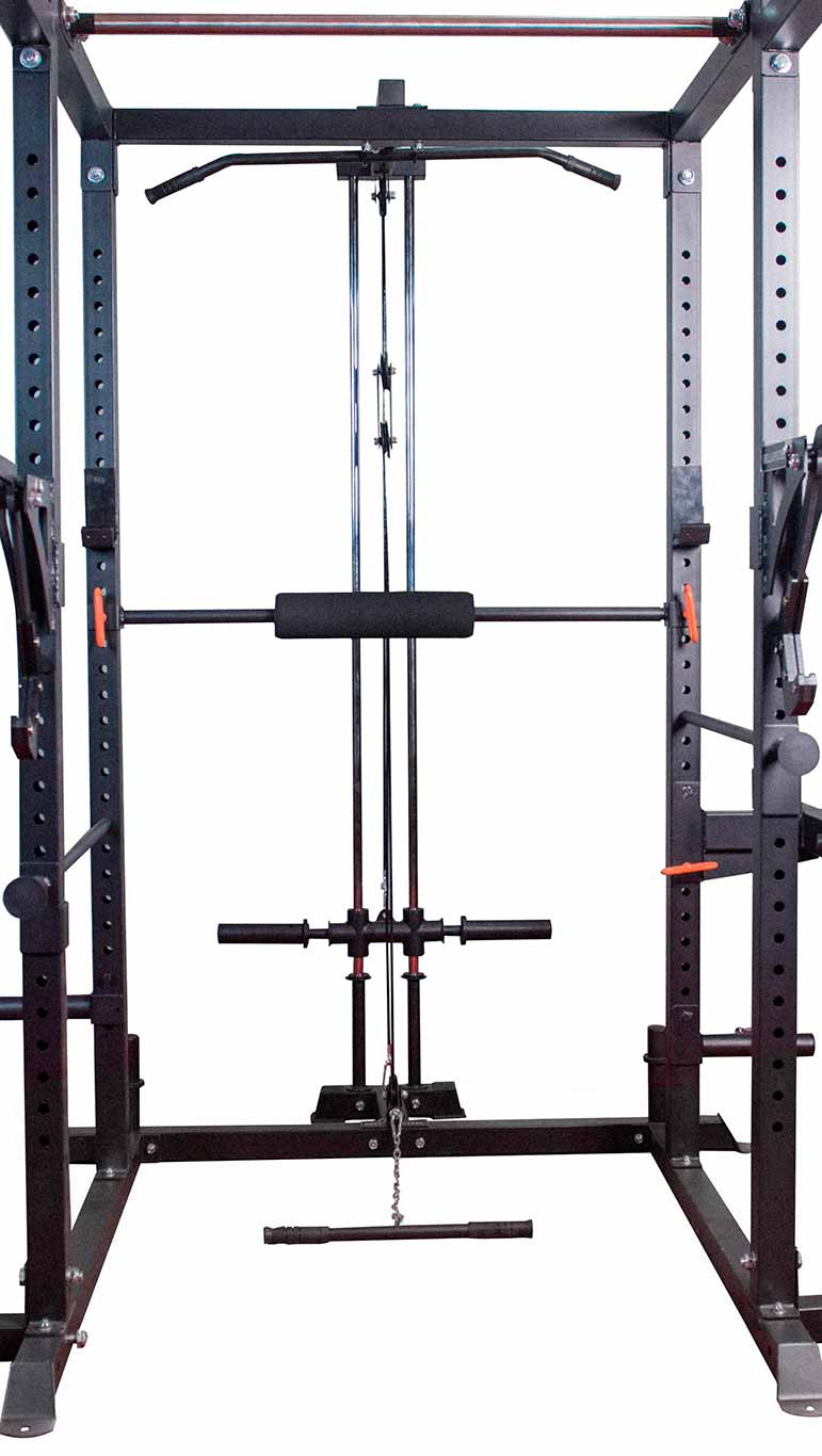 Rack Lat Pulldown / Row Attachment - Light Commercial/Residential Power Rack