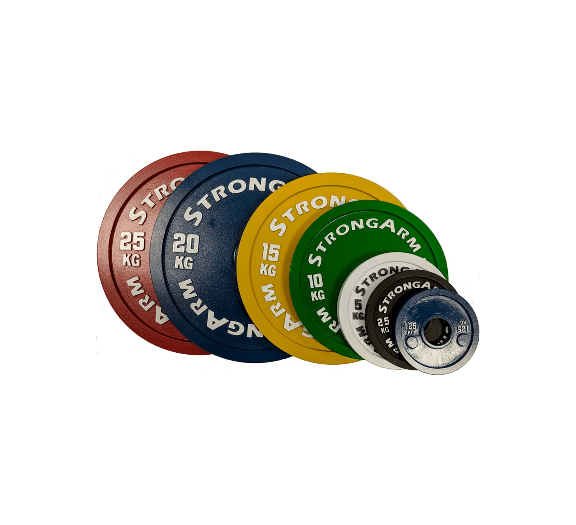 Calibrated Powerlifting Plate Sets by StrongArm