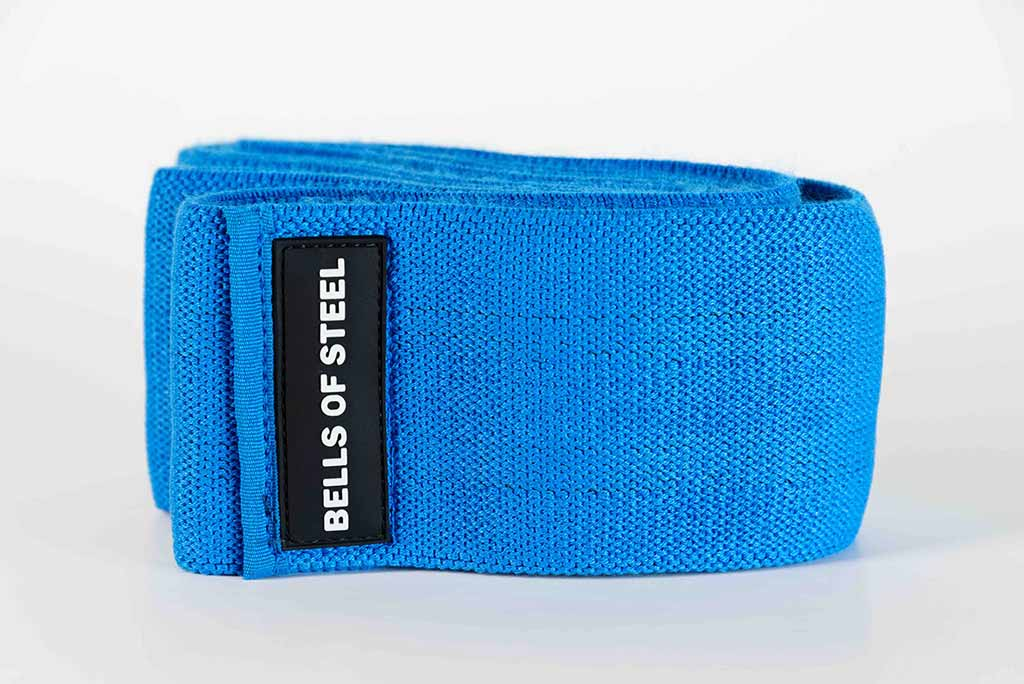 Blue resistance band