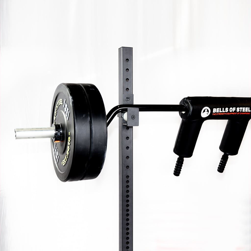 Premium safety squat bar with extra thick padding