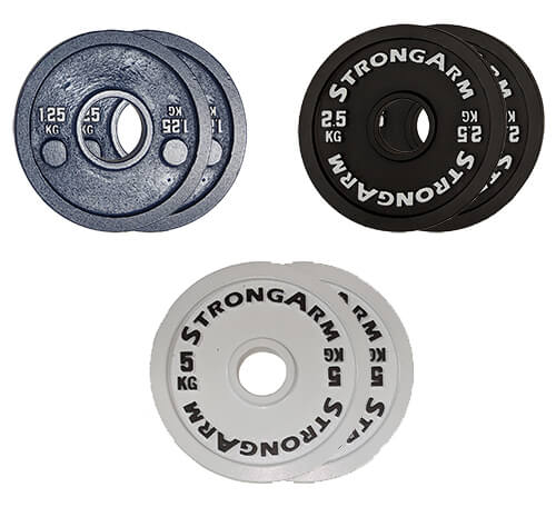 17.5kg-Steel-Calibrated-Plate-Set