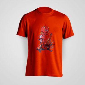Red Devil Air Blitz Bike Shirt