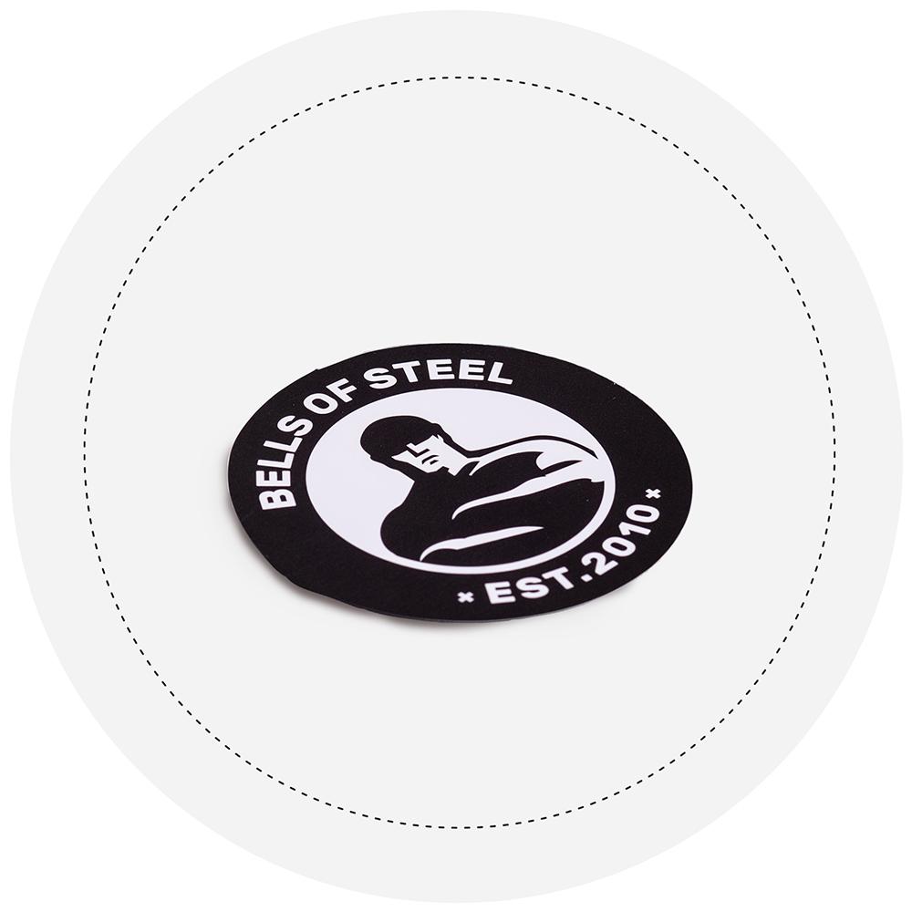 Bells of Steel Logo Sticker
