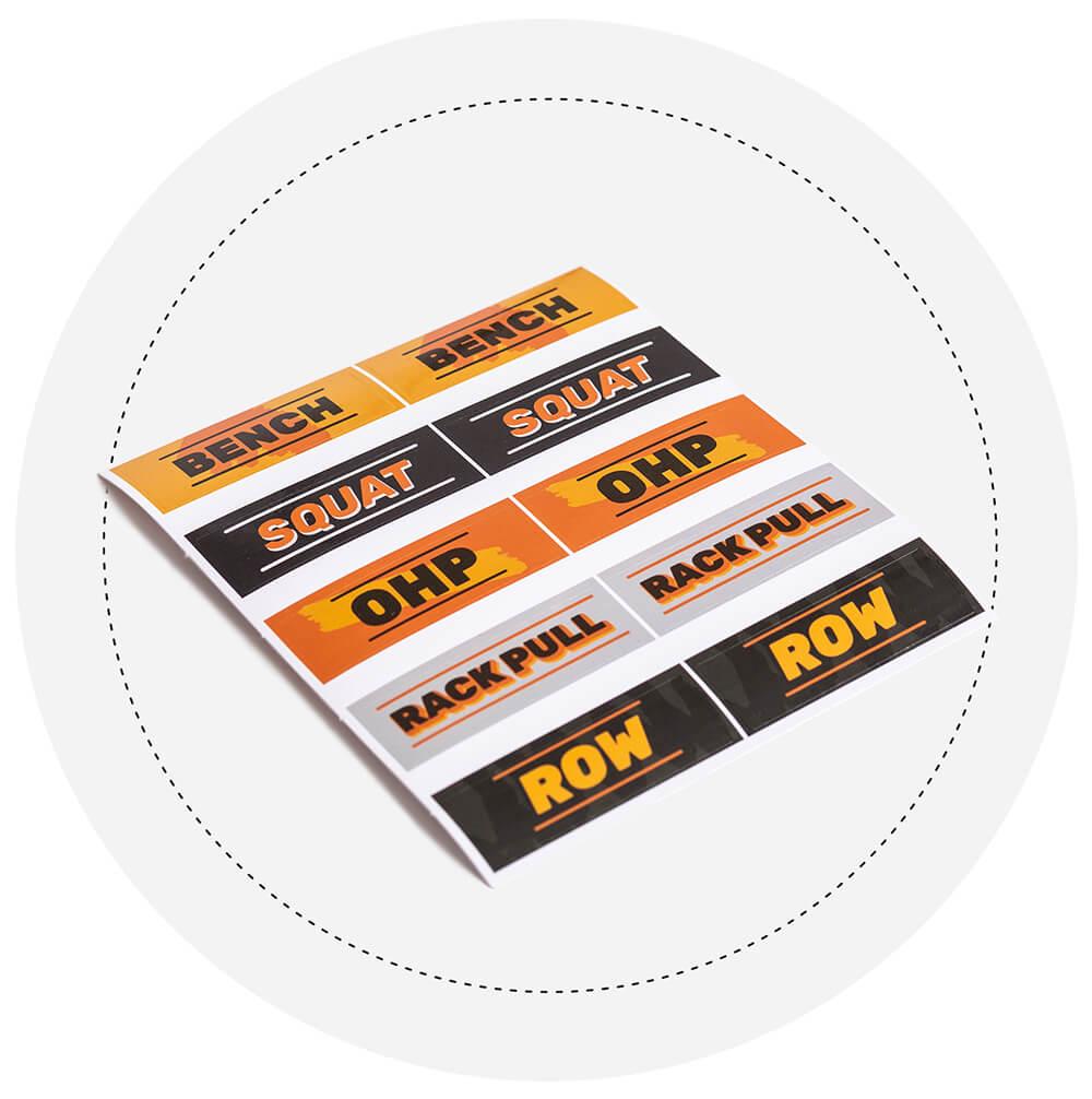 Power Rack Sticker