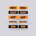 Power Rack Stickers