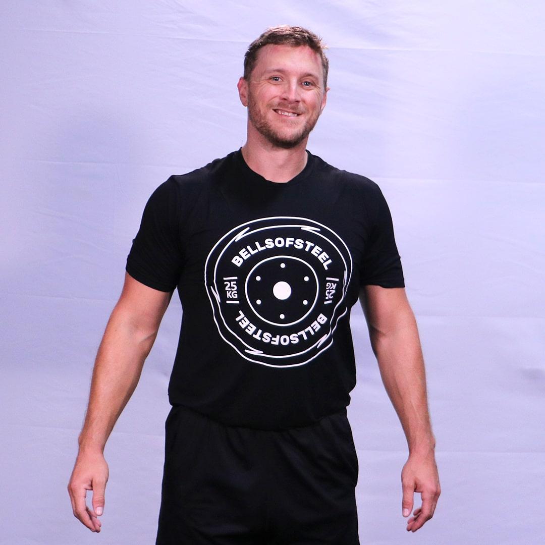 workout shirt tee plate