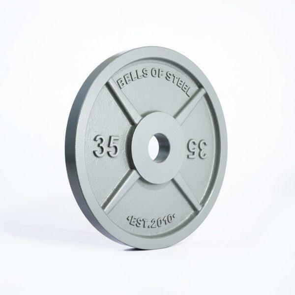 machined iron plates 35lbs