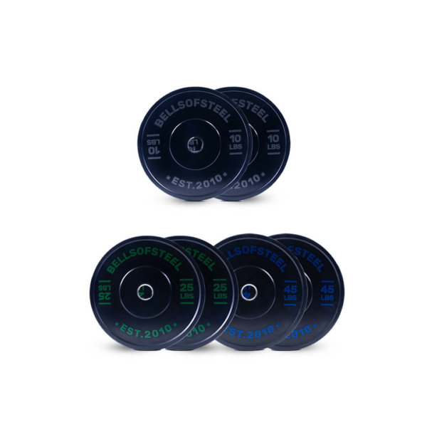 Dead Bounce Conflict plate set of 160 lbs