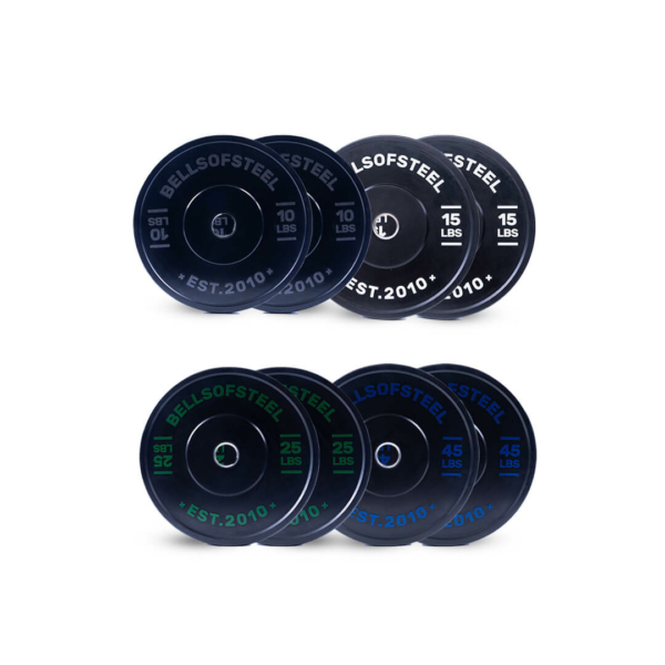 Dead Bounce Conflict plate set of 190 lbs