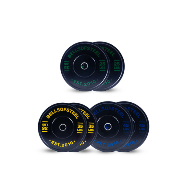 Dead Bounce Conflict Plate set of 210 lbs
