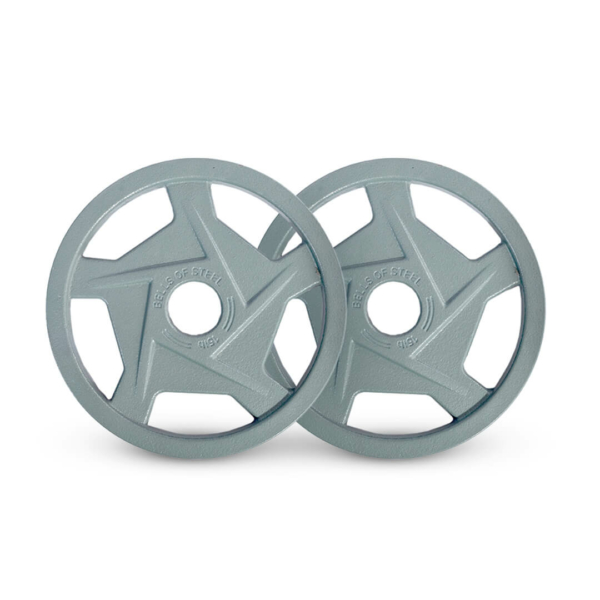 Mighty Grip Plates set of 15 lbs